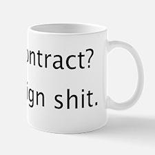 Social Contract Mug
