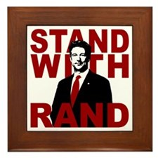 Stand With Rand Framed Tile