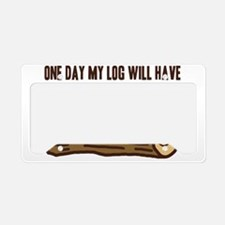 Twin Peaks Log Something To S License Plate Holder