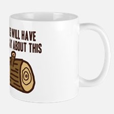Twin Peaks Log Something To Say Mug