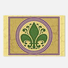 fleur-antique-nawl-CRDh Postcards (Package of 8)
