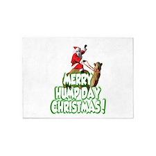 Funny Merry Hump Day Christmas 5'x7'Area Rug