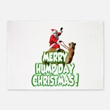 Funny Merry Hump Day Christmas 5'x7'Area Rug