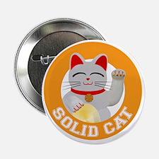 """Solid Cat original 2.25"""" Button"""