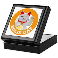 Solid Cat original Keepsake Box