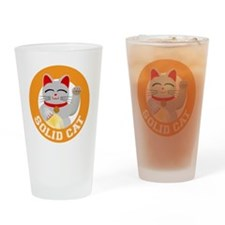 Solid Cat original Drinking Glass