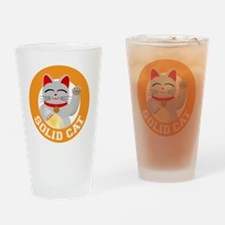 Solid Cat original Drinking Glass
