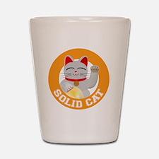 Solid Cat original Shot Glass