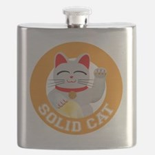 Solid Cat original Flask