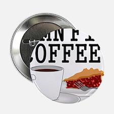 "Twin Peaks Damn Fine Coffee 2.25"" Button"