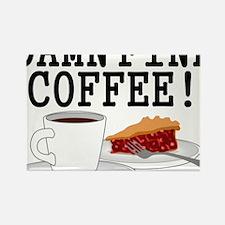 Twin Peaks Damn Fine Coffee Rectangle Magnet