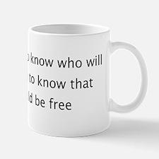 Slaves should be Free Mug