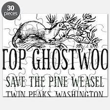Twin Peaks Pine Weasel Puzzle