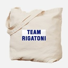 Team RIGATONI Tote Bag