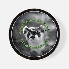 Appease The Pine Weasel Twin Peaks Wall Clock