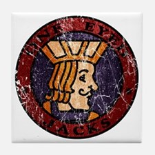 Twin Peaks One Eyed Jacks Tile Coaster