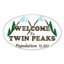 Welcome To Twin Peaks Decal