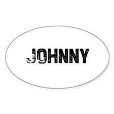 Johnny Oval Decal