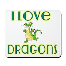 I love Dragons 2 Mousepad