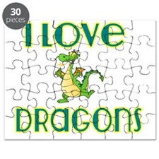 I love Dragons 2 Puzzle