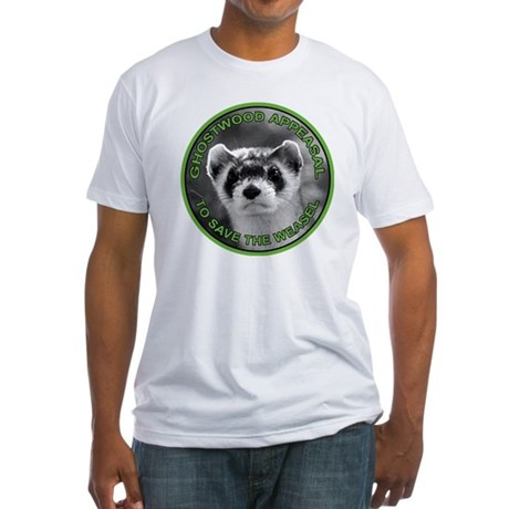 Pine Weasel Twin Peaks Fitted T-Shirt