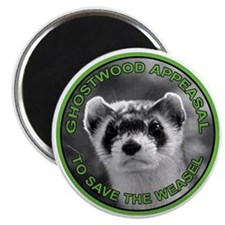 Pine Weasel Twin Peaks Magnet