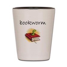 bookworm 2 Shot Glass