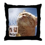 Blind cat rescue candy Cotton Pillows