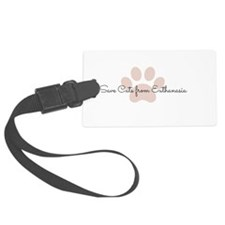 Save Cats from Euthanasia  Luggage Tag