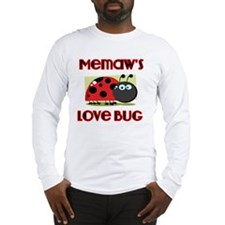 Memaws Love Bug Long Sleeve T-Shirt