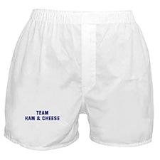 Team HAM & CHEESE Boxer Shorts