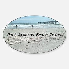 PORT ARANSAS BEACH TEXAS Decal