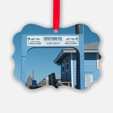 Fulton Beach Pier Texas Ornament
