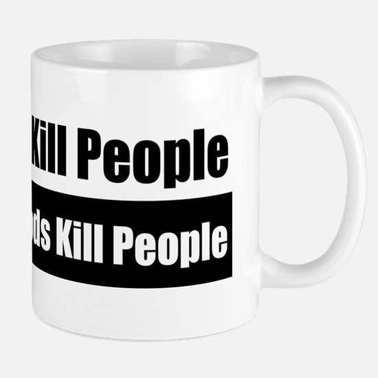 Gods Dont Kill People Mug