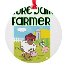 Future Dairy Farmer Ornament