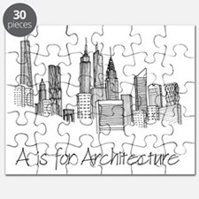 A is for Architecture Skyline Puzzle