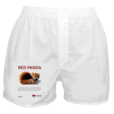 Red Panda Network - Help: Poster Boxer Shorts
