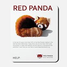 Red Panda Network - Help: Poster Mousepad