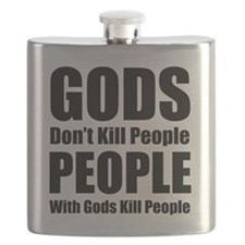 Gods Dont Kill People Flask