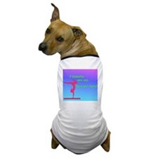 If Gymnastics were easy (Square) Dog T-Shirt