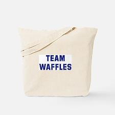 Team WAFFLES Tote Bag