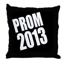 Prom 2013 Throw Pillow