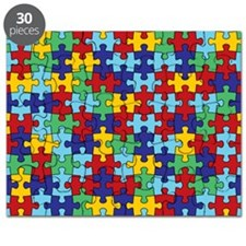 autism awareness  piece pattern Puzzle