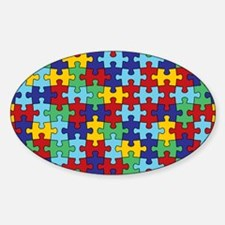 Autism Awareness Puzzle Piece Patte Decal