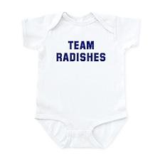 Team RADISHES Infant Bodysuit