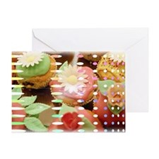 Cupcake Dreams Cat Forsley Designs Greeting Card