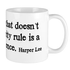 Majority Rule Small Mug