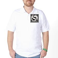 cat-dog-yang-bw-TIL T-Shirt