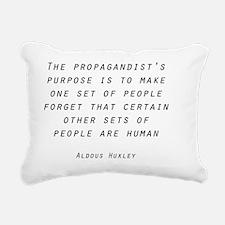 Propaganda Rectangular Canvas Pillow
