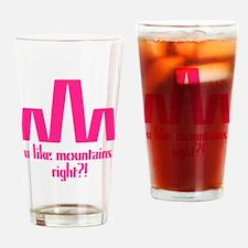 bk_mount Drinking Glass